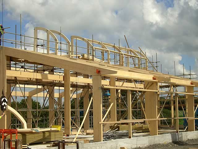 Lamisell Beams - Lamisell Glulam Beams - Nationwide delivery